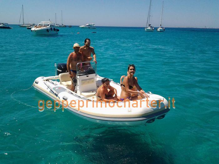 Barca in Affitto nel Mare Salentino