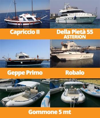 Yacht e Barche Geppe Primo Charter Gallipoli