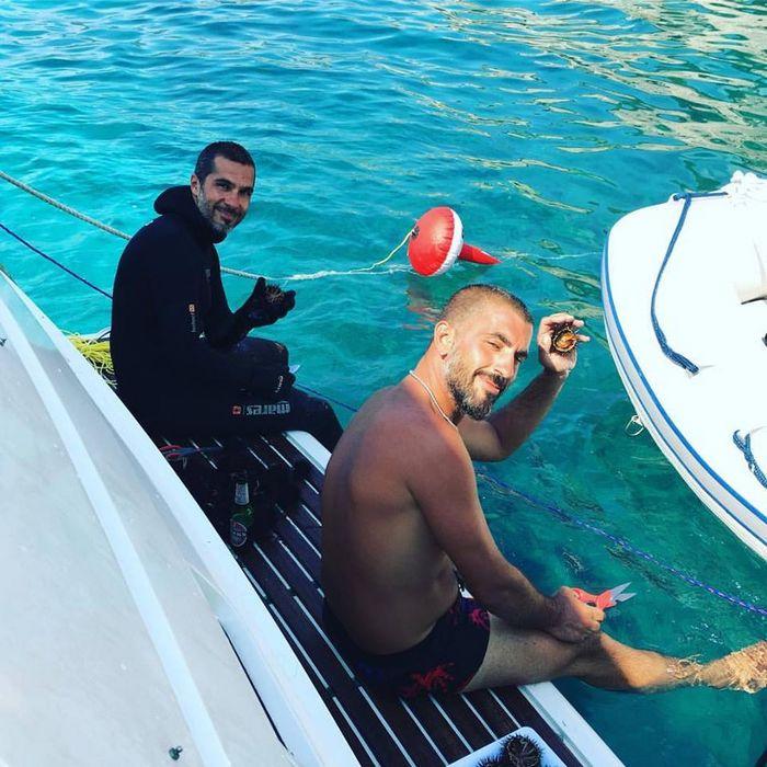 Immersione subacquea nel mare del Salento