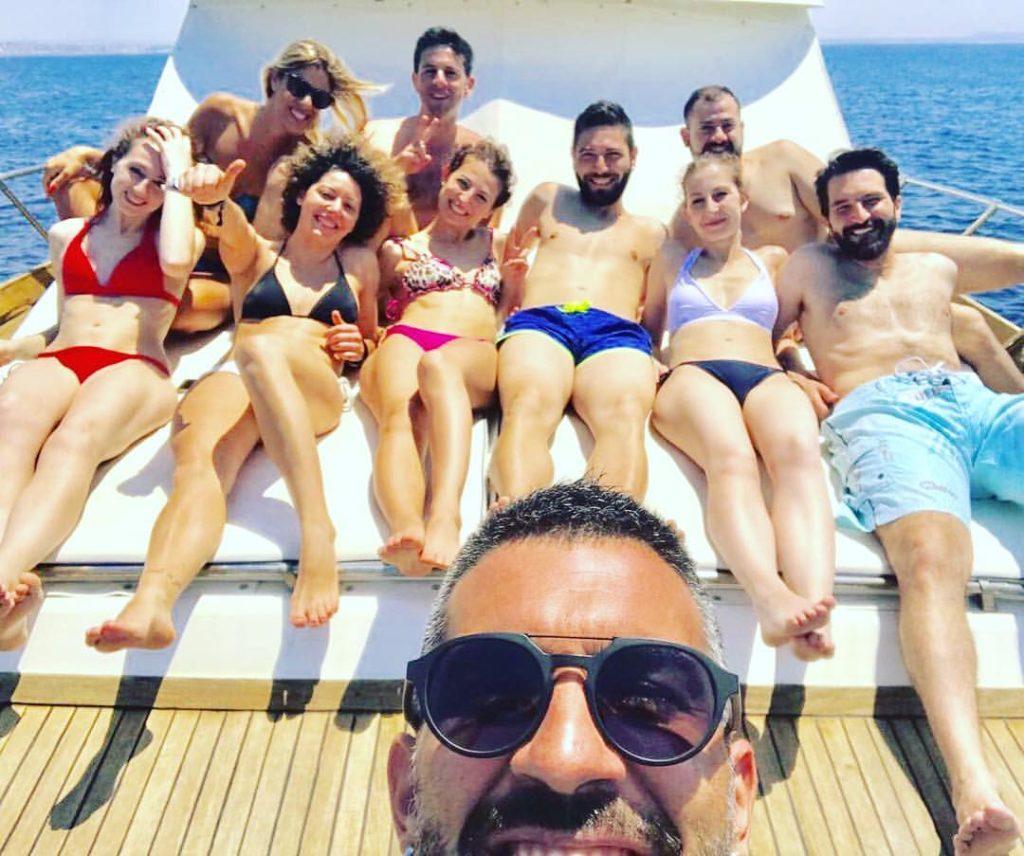 Una giornata in barca a Gallipoli